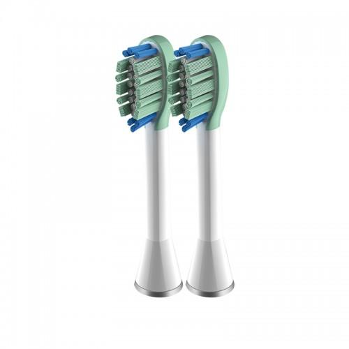 Насадки для электрической зубной щетки Unique Orthodontic White 2 шт