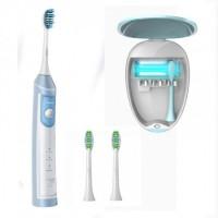 Электрическая зубная щетка Lebond MZ-UV Blue Sky 2 насадки