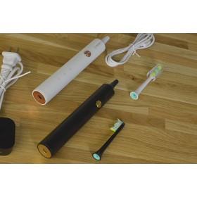 Набор звуковых зубных щеток Lebond MY Family ( 2 шт черная и белая) 2 насадки