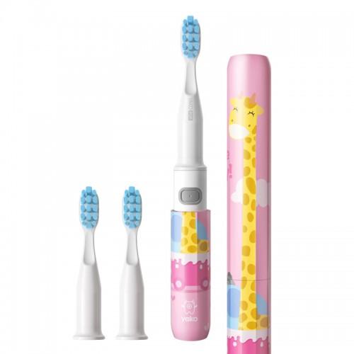 Электрическая зубная щетка YAKO Y1 Giraffe (Жираф) 3 насадки
