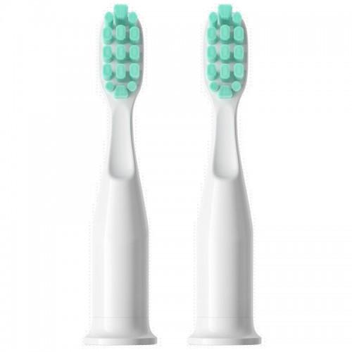 Насадки для звуковой зубной щетки YAKO CAPS Белые 2 шт