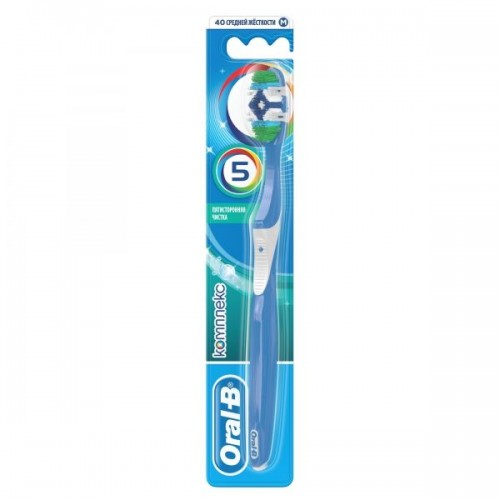 Зубная щетка Oral-B Комплекс Пятисторонная чистка средняя жесткость