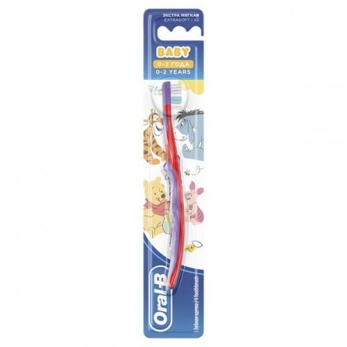Детская зубная щетка Oral-B Baby экстра мягкая 0-2 года