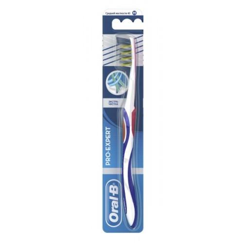 Зубная щетка Oral-B ProExpert Экстра чистка средняя жесткость