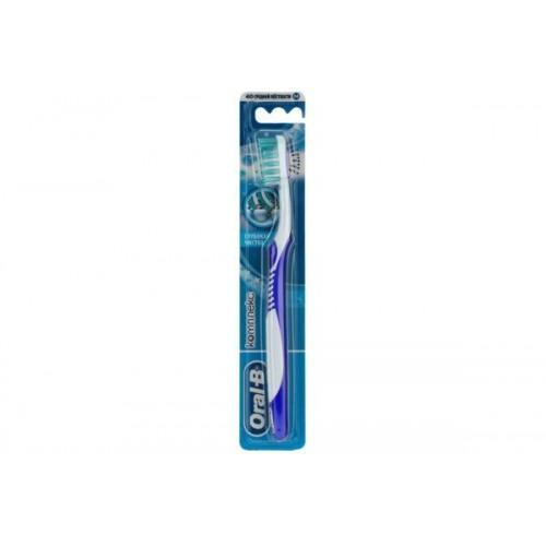 Зубная щетка Oral-B Комплекс Глубокая чистка средняя жесткость