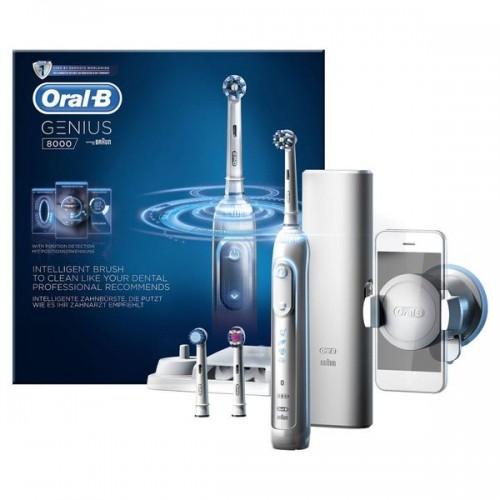 Электрическая зубная щетка Oral-B Genius 9000 + 4 насадки