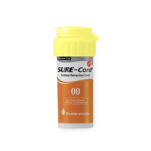 Нить ретракционная с пропиткой SURE-CORD PLUS  254 см размер №00