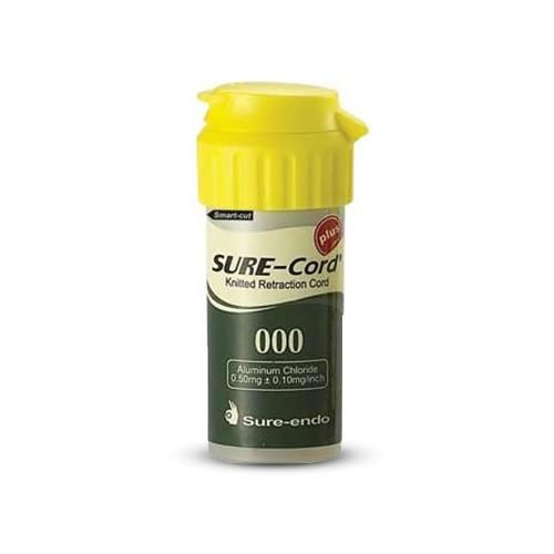 Нить ретракционная с пропиткой SURE-CORD PLUS  254 см размер №000