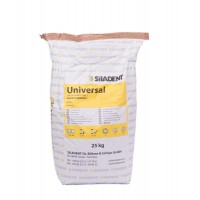 Гипс зуботехнический Siladent Universal класс 2 белый  25 кг