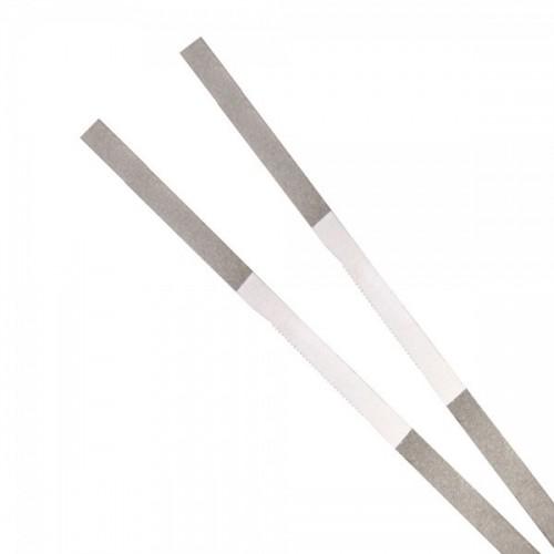 Штрипсы металлические с пилой ширина 3.0 мм длина 150 мм финишные 5 шт