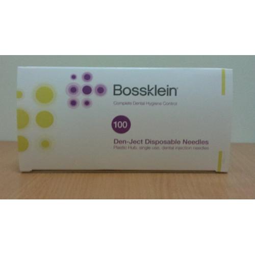 Иглы карпульные стерильные BOSSKLEIN Topdental 100 шт