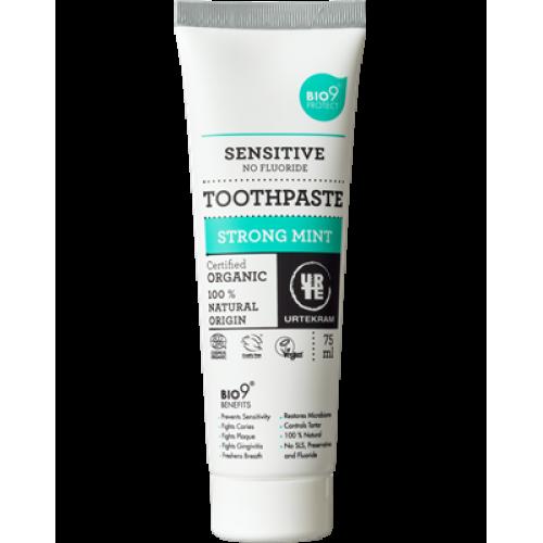 Зубная паста Urtekram Strong mint 75