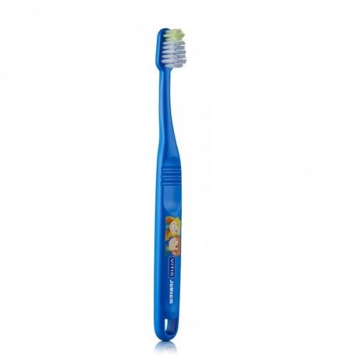 Детская зубная щетка VITIS JUNIOR от 6 лет синяя в п/э упаковке