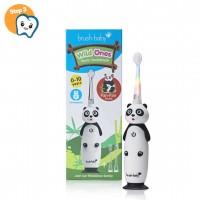 Звуковая зубная щетка Brush-Baby от 0 до 10 лет Панда 3 насадки