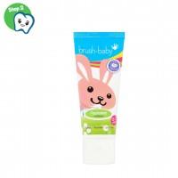 Детская зубная паста с ксилитом Brush-Baby 0 - 3 лет 12 мл