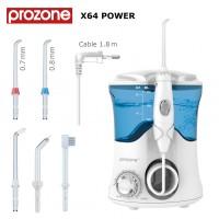 Ирригатор полости рта ProZone X64 POWER White 5 насадок