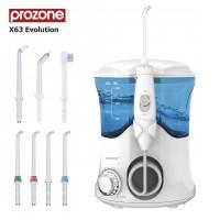 Ирригатор полости рта ProZone X63 Evolution White 7 насадок