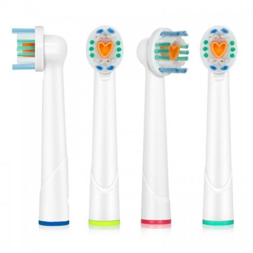 Сменные насадки для зубных щеток Oral-B ProZone EVO-3D 4 шт