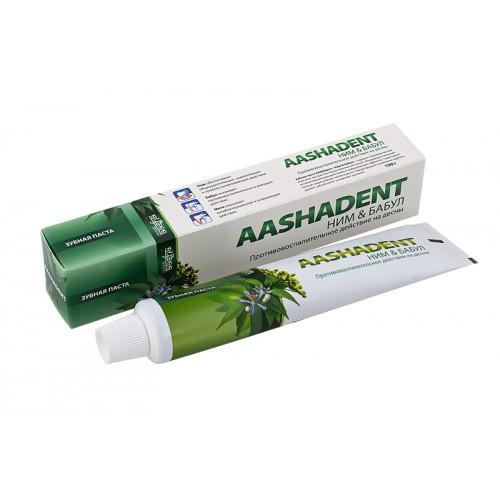 Зубная паста Aasha Herbals Ним-Бабул 75 мл