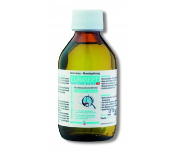Жидкость-ополаскиватель Curaprox Curasept 0,05% хлоргексидина (200мл)