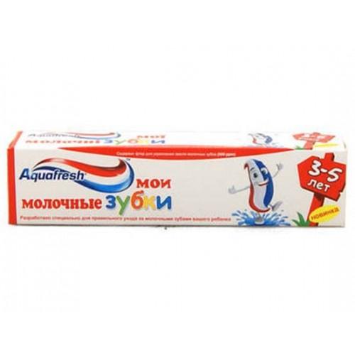 Детская зубная паста Aquafresh Мои молочные зубы от 3 до 5 лет 50 мл