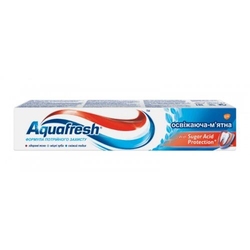 Зубная паста Aquafresh Тройная защита Освежающе-мятная 50 мл