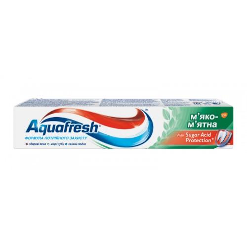 Зубная паста Aquafresh Тройная защита Мягко-мятная 50 мл