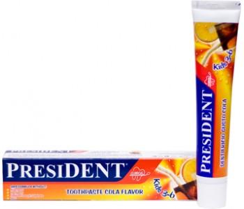 Детская зубная паста President Kids 3-6 лет Вкус колы, 50 мл