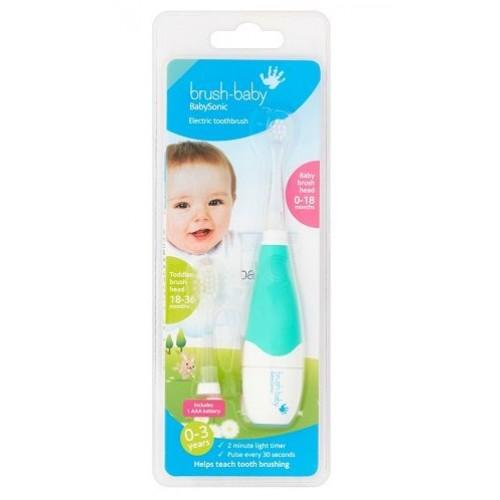 Звуковая зубная щетка Brush-Baby BabySonic от 0 до 3 лет
