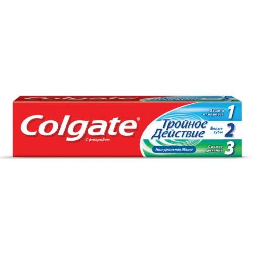 Зубная паста Colgate Тройное действие 100 мл