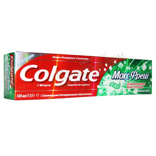 Зубная паста Colgate MaxFresh Нежная мята 100 мл