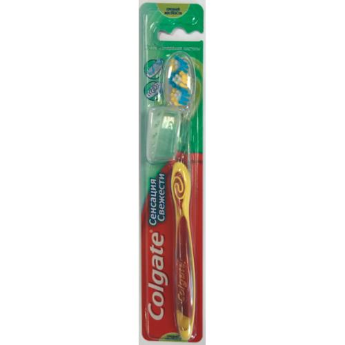 Зубная щетка Colgate Сенсация свежести средняя жесткость