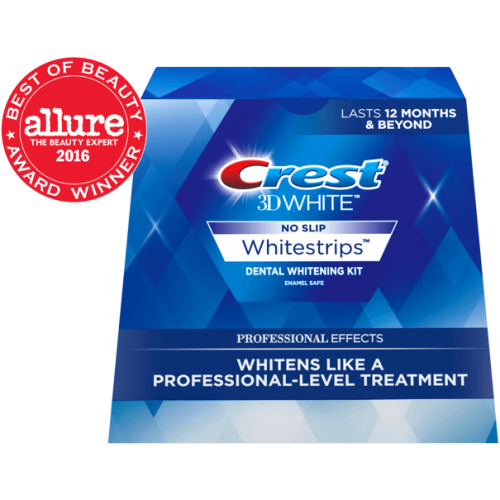 Отбеливающие полоски Crest 3D White Whitestrips Professional Effects 40 шт
