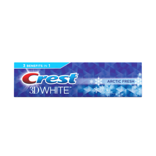 Зубная паста Crest 3D White Arctic Fresh Icy Cool Mint