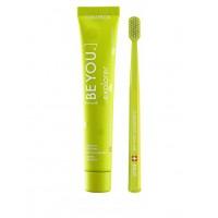 Зубная паста и зубная щетка Curaprox Be You Green 90 мл