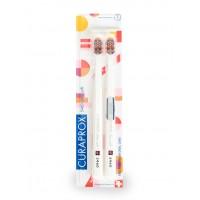 Набор зубных щеток Curaprox Ultrasoft PopArt 2 шт