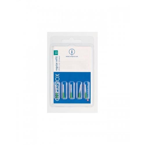 Межзубные ершики Curaprox regular 1.1 мм без держателя 5 шт