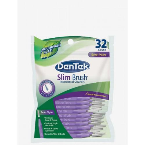 Тонкие межзубные ершики DenTek, 32 шт
