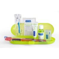 Ортодонтический набор Vitis Orthodontic Regular со щеткой с обычной головкой (мини)