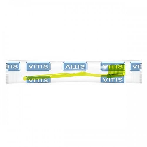 Зубная щетка Vitis Orthodontic с обычной головкой в п/э упаковке