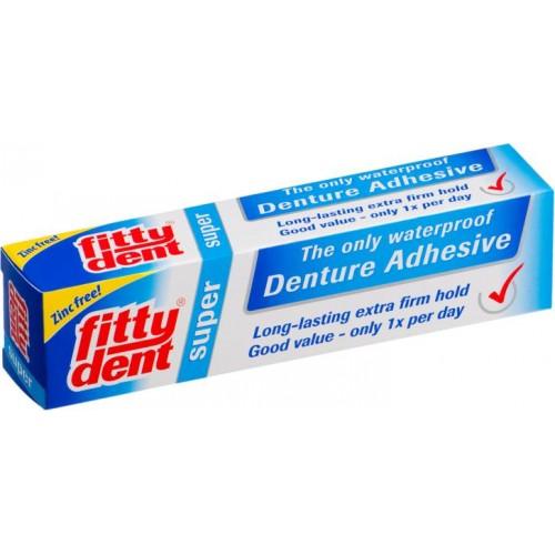 Крем для фиксации зубных протезов Fittydent Super 40 г