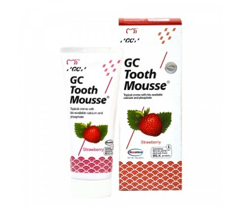Гель для восстановления эмали GC Tooth Mousse Клубника 35 мл