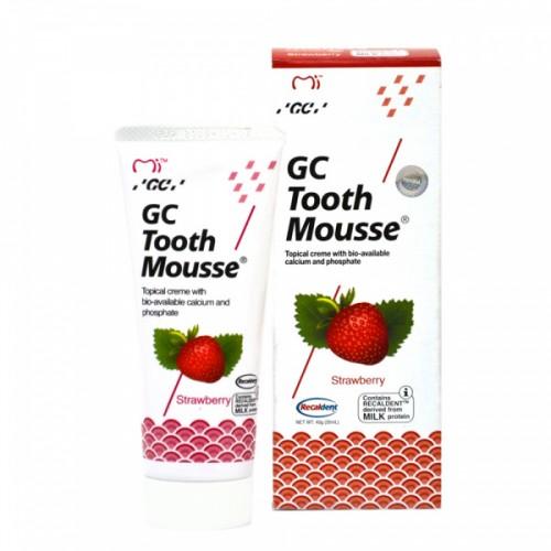 Гель для восстановления эмали GC Tooth Mousse Клубника 35 мл