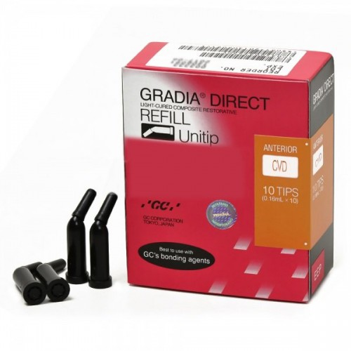 GRADIA DIRECT композит светового отверждения цвет CVD канюля 0.24 г