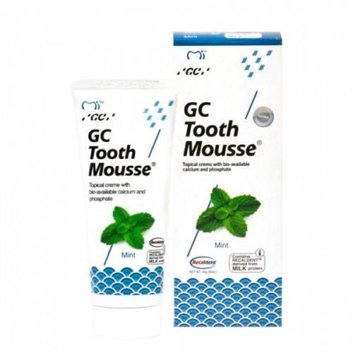Гель для восстановления эмали GC Tooth Mousse Мята 35 мл