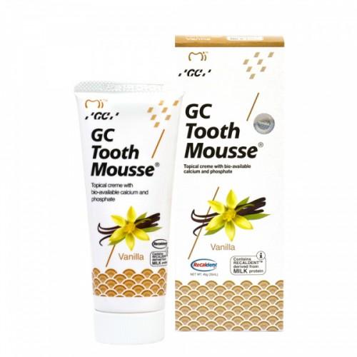 Гель для восстановления эмали GC Tooth Mousse Ваниль 35 мл