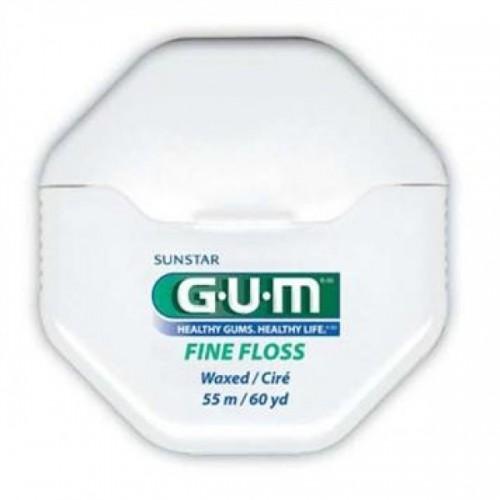Зубная нить (флосс) Gum Fine floss 55 м