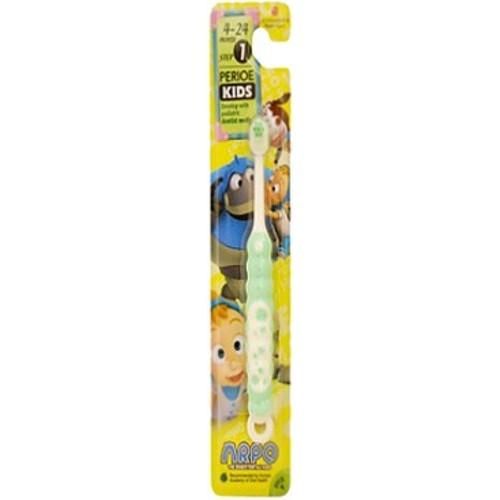 Детская зубная щетка LG Perioe Kids 1 step от 4 до 24 месясев