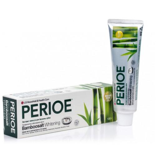 Зубная паста LG Perioe Bamboosalt Whitening 120 г