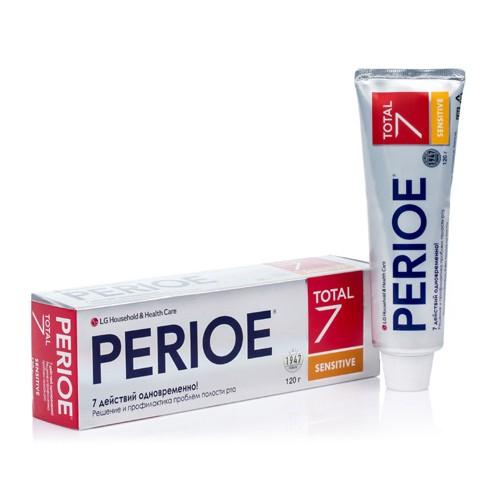 Зубная паста LG Perioe Total 7 Sensitive 120 г